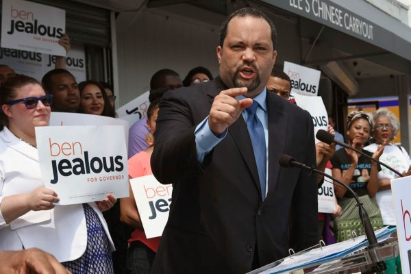 Ben Jealous candidate for governor in Maryland
