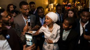Ilhan Omar, Democratic candidate for congress in Minnesota