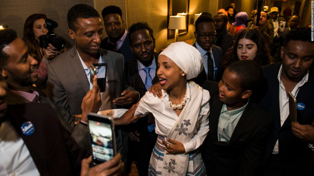 Somali-American Woman Running for Congress Faces Questions